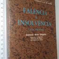 Falência e insolvência (Guia prático) - António Mota Salgado