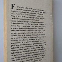 Festival magico matematico - Martin Gardner