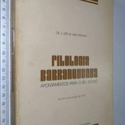 Filologia Barranquenha - J. Leite de Vasconcelos