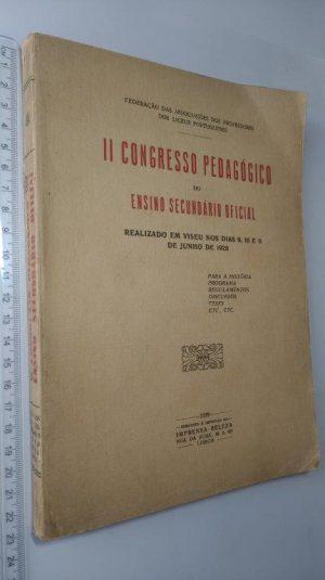 II Congresso Pedagógico do Ensino Secundário Oficial (Coimbra