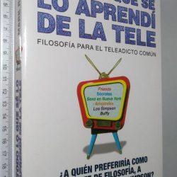 Todo lo que sé lo aprendí de la tele - Mark Rowlands