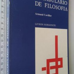 Vocabulário de filosofia - Armand Cuvillier