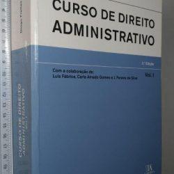 Curso De Direito Administrativo (Vol. 1) - Diogo Freitas Do Amaral