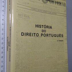 História do Direito Português (3ª Edição) - Mário Júlio de Almeida Costa