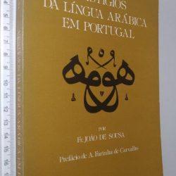 Vestígios da língua arábica em Portugal - João de Sousa