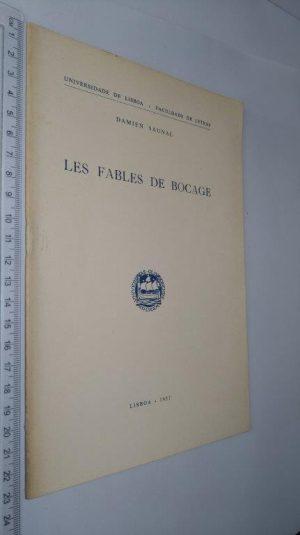 Les fables de Bocage - Damien Saunal