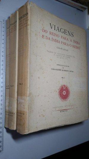 Viagens do reino para a Índia e da Índia para o reino (3 vols.) - D. António de Ataíde
