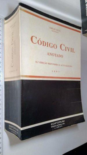 Código Civil Anotado (1997) - Abílio Neto
