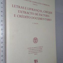 Colectânea De Legislação Comercial – Tomo VI – Letras E Livranças