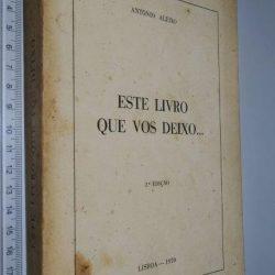 Este livro que vos deixo - António Aleixo