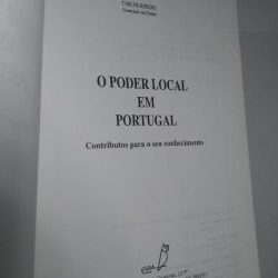 O Poder Local em Portugal - Adalberto Costa