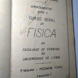 Apontamentos para o curso geral de física da faculdade de sciencias da Universidade de Lisboa - Prof. Dr. A. Cyrillo Soares