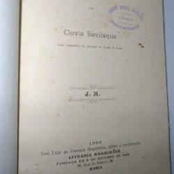 Criminologia e Direito (1896) - Clovis Bevilaqua