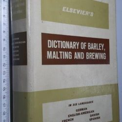 malting and brewing (European Brewery Convention) -
