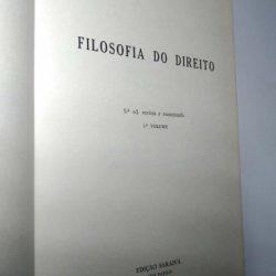 Filosofia do Direito (1.° vol.) - Miguel Reale