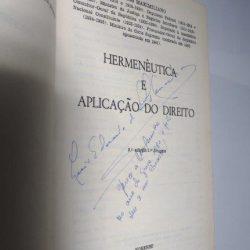 Hermenêutica e aplicação do Direito - Carlos Maximiliano