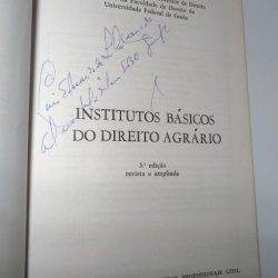Institutos Básicos do Direito Agrário - Paulo Torminn Borges