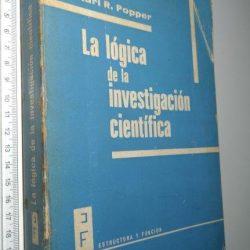 La lógica de la investigación científica - Karl R. Popper