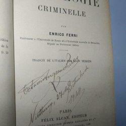 La sociologie criminelle - Enrico Ferri