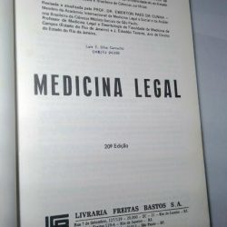 Medicina legal - Dr. Hélio Gomes