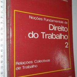Noções Fundamentais de Direito do Trabalho (vol. 2) - António de Lemos Monteiro Fernandes