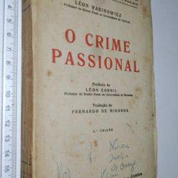 O crime passional - Léon Rabinowicz