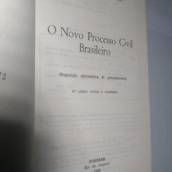 O novo processo civil brasileiro - José Carlos Barbosa Moreira