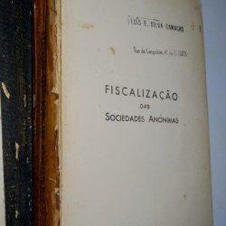 Problemas do anonimato (II - Fiscalização das Sociedades Anónimas) - J. Pires Cardoso