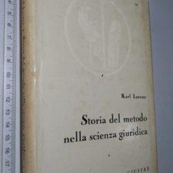 Storia del metodo nella scienza giuridica - Karl Larenz