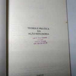 Teoria e prática da ação rescisória - Ulderico Pires dos Santos