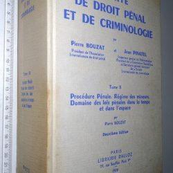 Traité de Droit Pénal et de Criminologie (Tome II) - Jean Pinatel