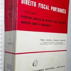 Noções fundamentais de Direito Fiscal Português (II vol.) - Vítor António Duarte Faveiro