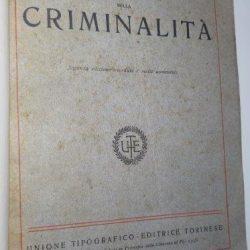 Studi sulla criminalità - Enrico Ferri