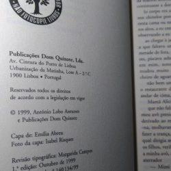 Exortação aos Crocodilos (1.a edição) - António Lobo Antunes
