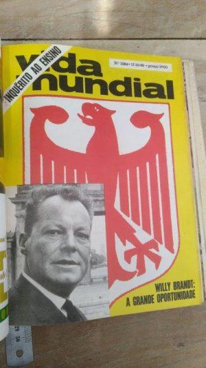 Willy Brandt - A grande oportunidade (Revista Mundial n.° 1584) -