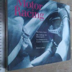 Motor racing (The early years) - Brian Laban