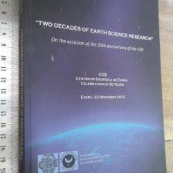 Two decades of earth science research (Centro de Geofísica de Évora) -