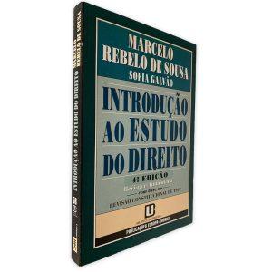 Introdução Ao Estudo do Direito - Marcelo Rebelo de Sousa - Sofia Galvão