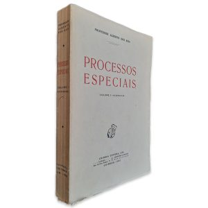 Processos Especiais (Volume I - Reimpressão) - Alberto dos Reis